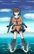 川内(艦これ)- 魚雷照準!