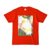 Tシャツ レッド 人面魚ちゃん