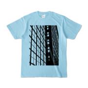 Tシャツ ライトブルー S-Building