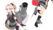 [MMD配布]由良改二の艤装作ってみた!