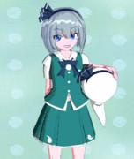 【Blender】妖夢ちゃん【東方】