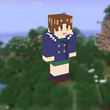 【Minecraft】西住みほPコートスキン