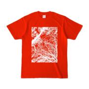 Tシャツ レッド FOREST_MORI