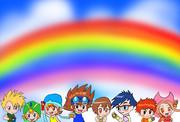 虹色の8人の選ばれし子供達