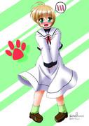 おとこの娘ユーノきゅんがなのは制服に着替えたら