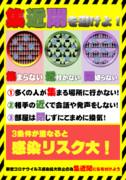 新型コロナウイルス感染拡大防止のためのポスター3