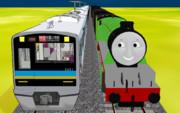 にゅーたうん電車とふらいんぐきっぱー