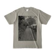Tシャツ シルバーグレー GREEN_ROAD
