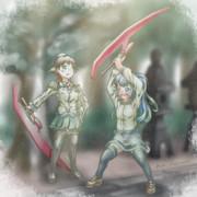 【艦これ】日々是精進【比叡/五月雨】