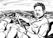 漂流実験~海洋探検家アラン・ボンバール博士