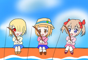 火曜新アニメは女の子+釣り?