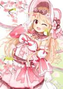 桜ゴスロリちゃんと緑なアイツ