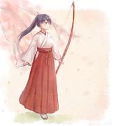 巫女鳳翔さん