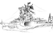 大日本帝國海軍 大和型戦艦 一番艦「大和」