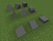 #Minecraft 簡単モデルを作ってみようかな  #JointBlock