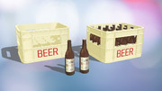 瓶ビールとビールコンテナ作ってみました