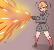 世界一かわいい火炎放射器