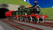 [MMDモデル配布]SE&CR D class 蒸気機関車