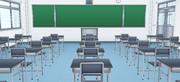 アニメ風教室
