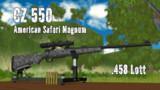 【MMD銃火器】CZ 550 American Safari Magnum【更新】