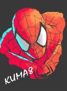 記憶で描いた スパイダーマン