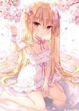 桜とうちの子