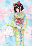 ひなちゃんと桜とひよこ
