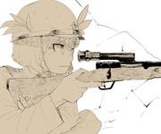 MKMMKT姉貴と九七式狙撃銃