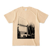 Tシャツ ナチュラル Shinjuku_Building