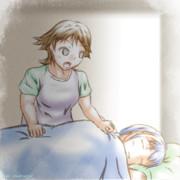 【艦これ】朝が来た【比叡/五月雨】