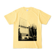 Tシャツ ライトイエロー Shinjuku_Building