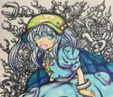 手描きアナログにとりちゃん!