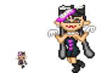 【splatoon】アオリ【インテリ眼鏡 作<3】
