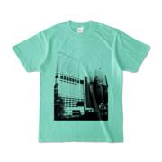 Tシャツ アイスグリーン Shinjuku_Building