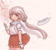 桜と御蔵ちゃん