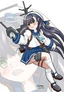 松輪「……海防艦、松輪……でます!」