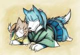 蒼龍犬と飛龍猫