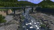 河原の風景