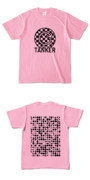Tシャツ ピーチ 円TANKER