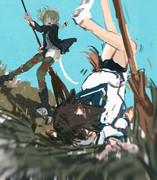 リーネと宮藤5