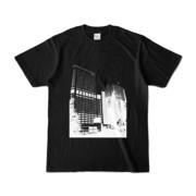 Tシャツ ブラック Shinjuku_Building