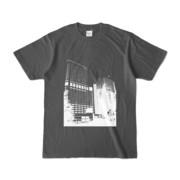 Tシャツ チャコール Shinjuku_Building