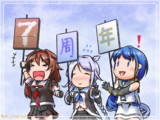 【艦これ】ななおめっ!【五月雨/海風/白露】