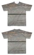 Tシャツ フルグラフィック 古いベンチ