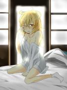 寝起きヤマメ