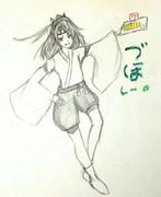 瑞鳳さんとお絵描き練習