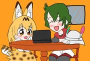 個人的に家で見るおすすめのアニメ「けものフレンズ」