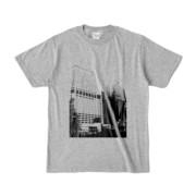 Tシャツ 杢グレー Shinjuku_Building