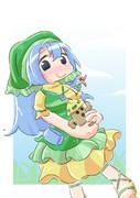 袿姫さまとハニワ