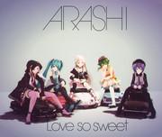 【MMDジャケットアート2020】Love so sweet